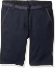 Nautica Girls School Uniform Skinny Bermuda Navy Shorts Nwt size 5