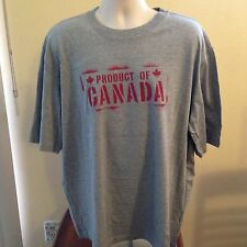 VINTAGE PRODUCT OF CANADA T SHIRT XL (measures xxl)