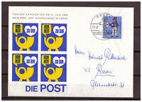 BRD, SoU MiNr. 517 SSt Essen - Tag der offenen Tür (Post- & Fernmeldeamt) 1966
