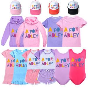 A for Adley Hoodie Youtuber Hooded Sweatshirt Girls T shirt  Top Hat Nightdress