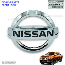 Logo Genuine Front Emblem Decal Bumber For Nissan Navara Np300 D23 Truck 2015 17