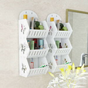 3 Layer Bathroom Shower Storage Shelf Bath Caddy Corner Organizer Rack Holder