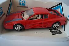 Bburago BURAGO voiture miniature 1:18 Ferrari testarossa 1984 publicitaires modèle * en OVP *