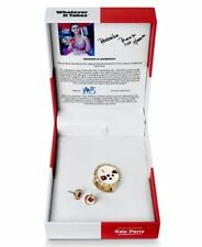 Whatever It Takes by Katy Perry Gold-Tone Strech Ring & Earrings Set in Gift Box