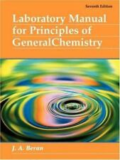 Principles of General Chemistry by Jo Allan Beran (2004, Paperback, Revised, Lab