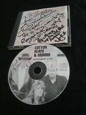 COTTON KEAYS MORRIS CD SIGNED BY DARRYL JIM RUSSELL TO PETER THE ZOOT MASTERS