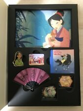 Disney Japan Pin 98832 15 Fabulous Years! Assorted Book Mulan / A Bug's life