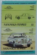 1968 MERCEDES 300 SEL Car Stamps (Leaders of the World / Auto 100)