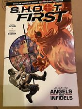 Shoot First Angels and Infidels by Justin Aclin (2014, Trade Paperback)