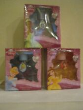 Disney Magical Dreams - 3 Different Bottles With Charms -Cinderella-Bella-Tiana