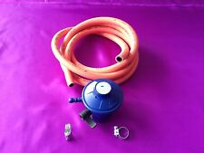LPG 20 mm Butane Gas Regulator R700G +2 Metre 8mm ID Hose Pipe And Clips 28-29mb