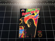 Friday the 13th NES box art vinyl decal / sticker retro vintage video game 80's