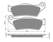 TRW MCB 648 RSI Forros de freno traseros APTO PARA KTM LC8 950 SUPERMOTO