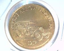 1912 Franklin Mint Antique Car Series Pierce Arrow Model 66 26mm Brass