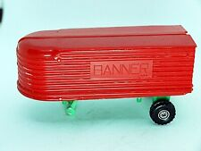 BANNER INC. PLASTIC TOY TRAILER RED