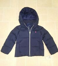 5d359bbac Ralph Lauren Girls Navy Down Puffy Jacket (5T) - NEW
