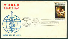 1976 Philippines WORLD HEALTH DAY Jose Rizal First Day of Issue COVER