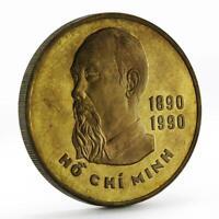 Vietnam 20 dong 100th Anniversary Birth of Ho Chi Minh coin 1989