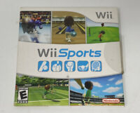 Wii Sports (Nintendo Wii, 2006) Complete -Tested & Works Great!