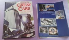 The Worlds Great Cars Jeremy Coulter 1989 Colour Library Book