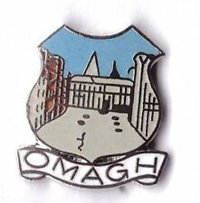 omagh  lapel badge northern ireland county Tyrone