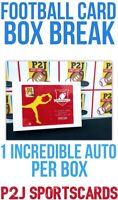 19/20 Hit Parade Exclusive P2J Football CARD BOX BREAK 1 RANDOM TEAM Break 4435