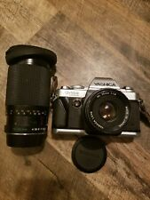 Yashica Fx-103 35mm Camera with 50mm and 75-150mm Lens Vintage