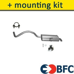 RENAULT GRAND SCENIC II 1.6 110/115HP 2002-2009 Exhaust Rear Silencer+