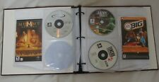 LARGE LOT Sony Playstation One & Playstation 2 Games + Manuals in Binder WOW!