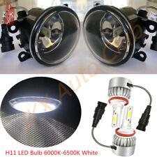 For Peugeot 207 307 407 607 3008 SW CC VAN 2000-2013 LED Fog Lights o Lamps Set