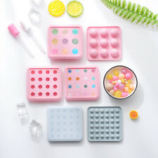 Silicone Ball Sphere Chocolate Mould Candy Cookies Ice Cube Tray Jelly Mold UK