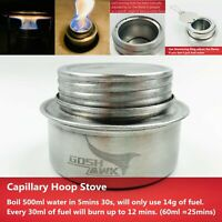 Capillary Hoop Stove & Simmering Ring For Outdoor Hiking Camping