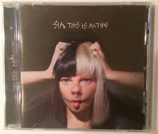 "Sia ""This Is Acting"" Deluxe Limited Edition Bonus Tracks CD Brand New Sealed"