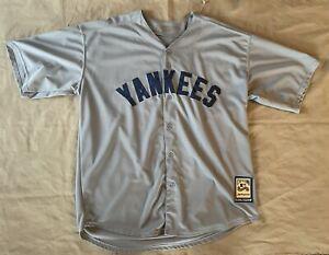 BABE RUTH New York Yankees Majestic Cooperstown MLB Baseball Jersey Sz XXL