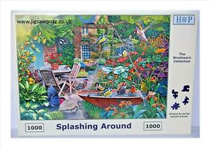 Splashing Around New Release Strathearn 1000 House of Puzzles HOP Jigsaw Puzzle