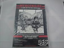 ULTRA RARE Mercenaire Military RPG 1986 Sealed DES Publications Australia