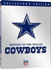 NFL HISTORY OF EL DALLAS COWBOYS (Tom McKeon) - DVD - Region 1 - Sellado