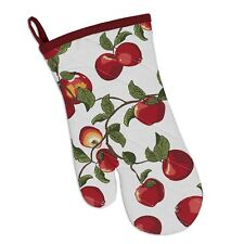 APPLE ORCHARD Quilted Cotton Oven Mitt