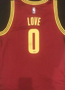 Kevin Love Autographed Cleveland Cavaliers Away Swingman Jersey - Upper Deck UDA