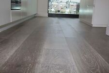 Sample- 14mm Engineered Hardwood Timber Flooring Mint Grey NQP Oak Floorboard