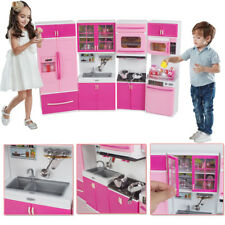 Plastic Kitchenware Toy Toddler  Playset Kids Cooking Pretend Play Set Gift New