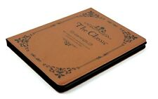 For Apple iPad 2 3 4 Classic Antique Vintage Book Style Smart Stand Case Cover