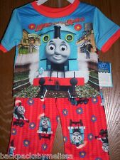 Thomas the Train Boys 3T Pajamas 2 piece Set NeW Shirt Pants The Tank Engine NWT