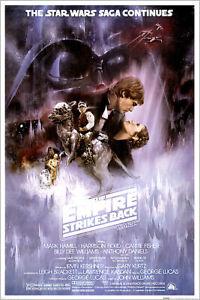 "Star Wars: Episode V - The Empire Strikes Back - Movie Poster (Reg) (24"" X 36"")"