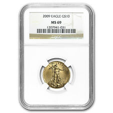1/4 oz Gold American Eagle MS-69 NGC (Random Year) - SKU #83502