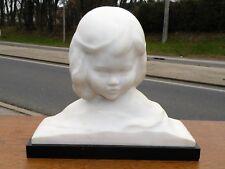 Amedeo Gennarelli (1881/1943) Buste marbre de Carrare signé