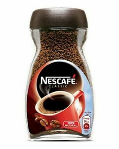 Nescafe Classic Instant Coffee (100G, 200G)Fast Free Uk Delivery