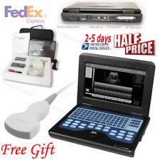 Notebook Ultrasound Scanner Laptop Machine CMS600P2+3.5Mhz Convex Probe,US Fedex