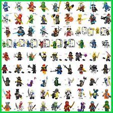Compatibilité Lego Ninjago Minifigures Kai Jay Zane Lloyd Cole Nya Wu Char Akita