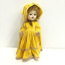 Vintage Pedigree Doll with Yellow Dress #601